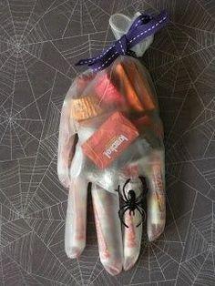 halloween candy bag pinterest