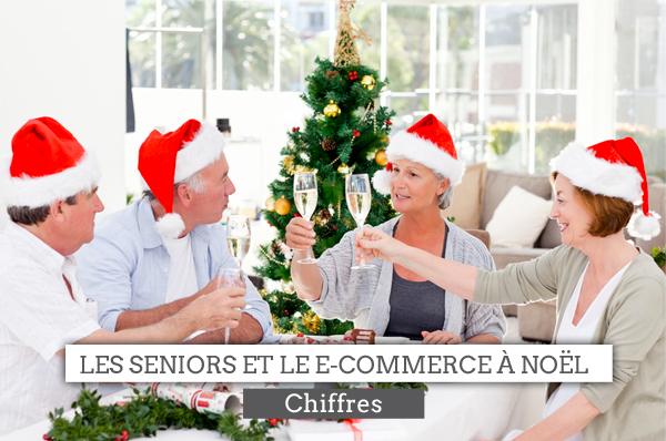 seniors et e-commerce noël